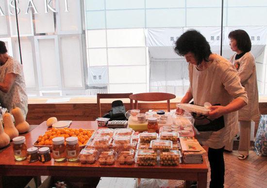 食用ほおずき試食販売イベント